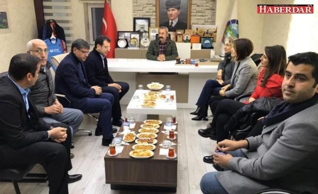 Ekrem İmamoğlu, Dersim Belediyesi'ni ziyaret etti