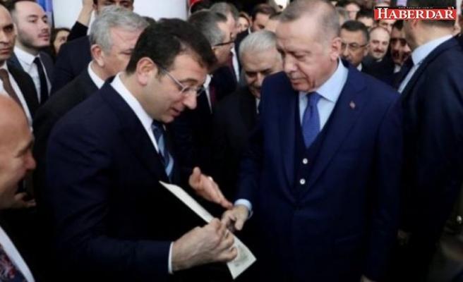 Ekrem İmamoğlu, Erdoğan ile görüştü! İşte 'Kanal İstanbul' mektubu verdiği görüşmeden kareler