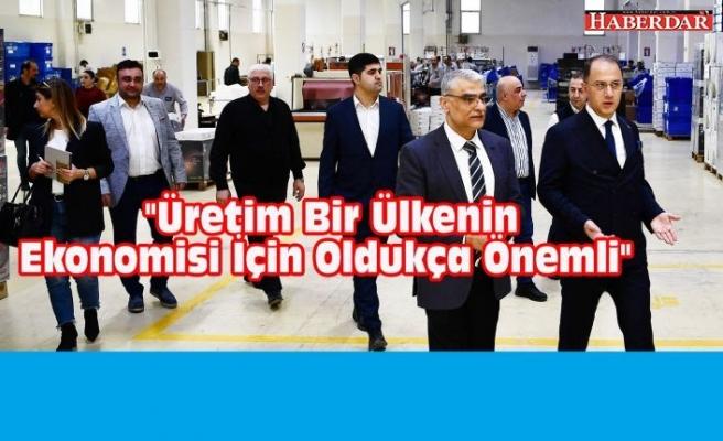Çalık, İhlas Ev Aletleri fabrikasını ziyaret etti.