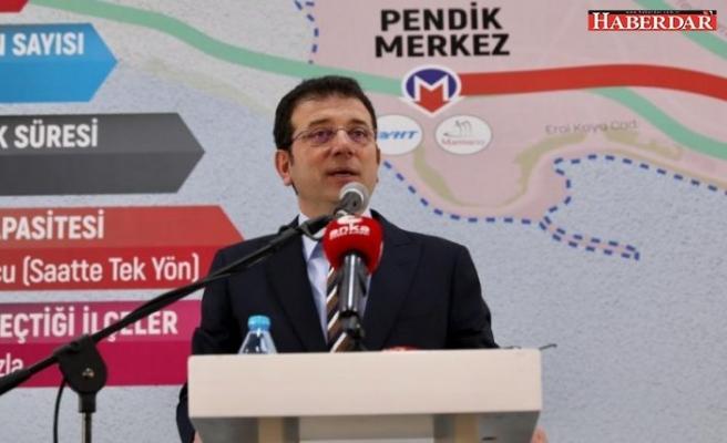 Ekrem İmamoğlu İstanbul'da duran 3. metro inşaatını da yeniden başlattı