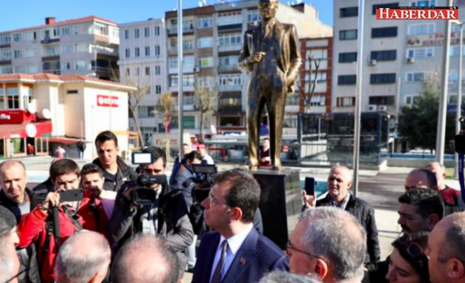 Ekrem İmamoğlu'ndan 'Atatürk büstü' talimatı
