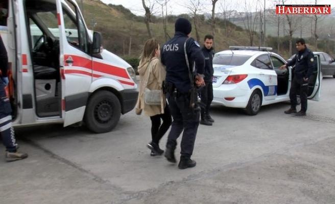 İntihara kalkıştı polisten kaçtı