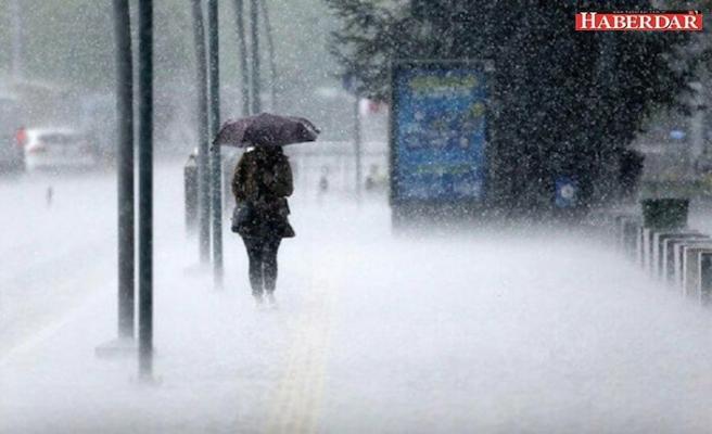 Meteoroloji'den kuvvetli yağmur ve kar yağışı uyarısı