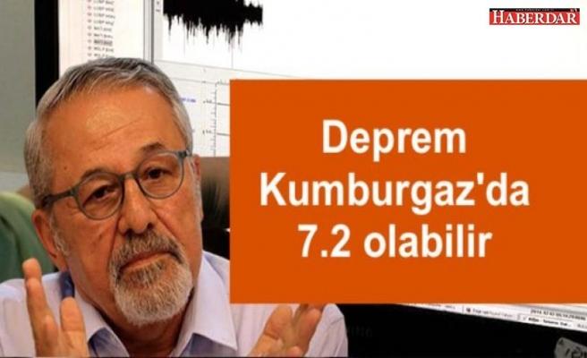 Naci Görür'den büyük Marmara depremi tahmini: Deprem Kumburgaz'da 7.2 büyüklüğünde olabilir
