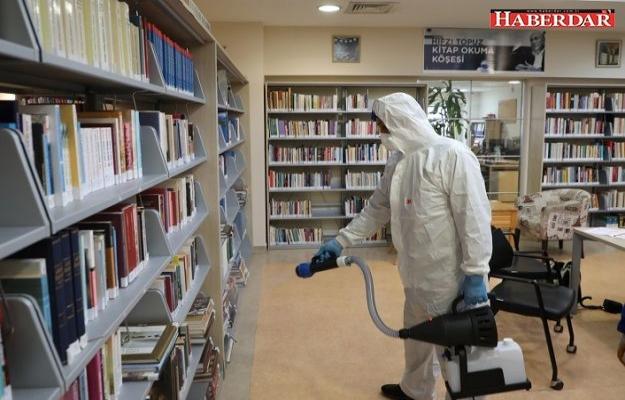 Büyükçekmece'de korona virüsüne karşı dezenfektasyon çalışmaları başlatıldı