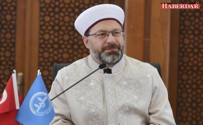 Diyanet İşleri Başkanı Erbaş: Cami ve mescitlerde cemaatle namaza ara verildi
