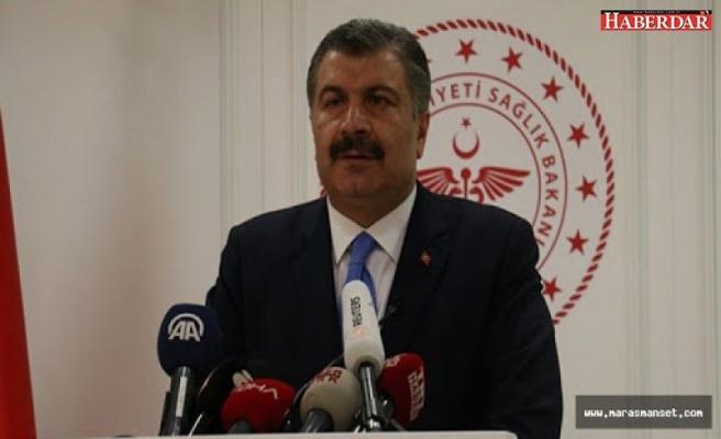 Fahrettin Koca: Toplam vaka sayısı 98'e yükseldi, 1 kişi hayatını kaybetti