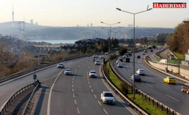 İstanbul'da koronavirüs etkisi: Trafik yoğunluğunda azalma