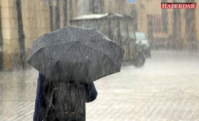 Meteoroloji'den önemli uyarı: Yağışla birlikte sıcaklıklar düşecek