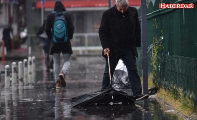 AKOM İstanbul'u uyardı: Serin ve yağışlı hava geliyor