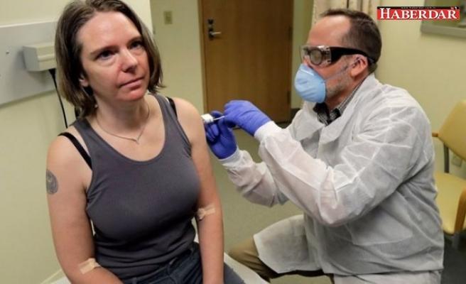 Koronavirüs aşısının ilk gönüllü deneği olmuştu... Yaşadıklarını anlattı