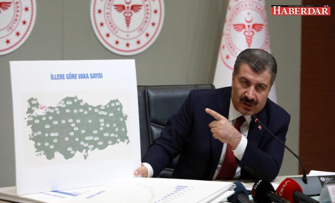 """Sağlık Bakanı Koca 18 şehre """"Bu filmin kahramanları"""" deyip teşekkür etti"""