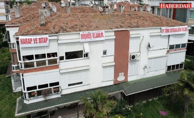 Atatürk'ün Gençliğe Hitabesi 50 binanın üstüne yazıldı