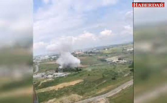 Başakşehir'de fabrikada patlama: Ölü ve kayıplar var!
