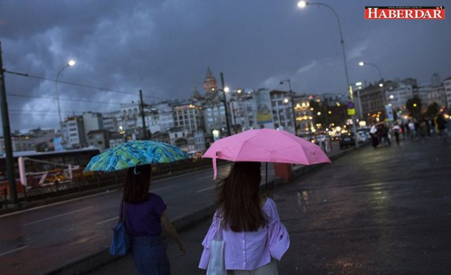 Rekor sıcaklıkların ardından kuvvetli yağış geliyor