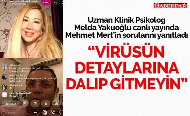 Virüsün detayına dalıp gitmeyin!