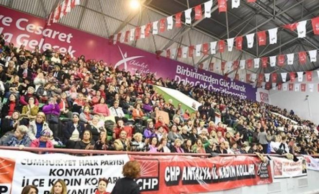 CHP'de ertelenen Kadın Kolları Kurultayı 11 Temmuz'da seyircisiz yapılacak
