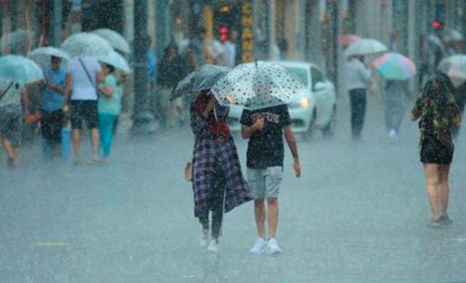 Bazı iller için sağanak yağış uyarısı