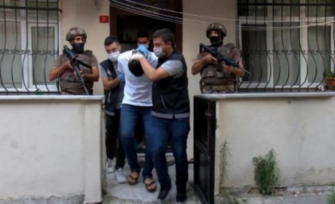 İstanbul'da dev uyuşturucu operasyonu! 75 gözaltı