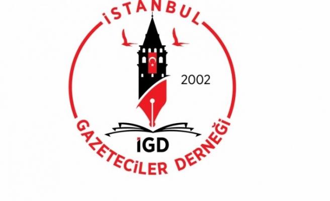 İstanbul Gazeteciler Derneği'nden 15 Temmuz mesajı…