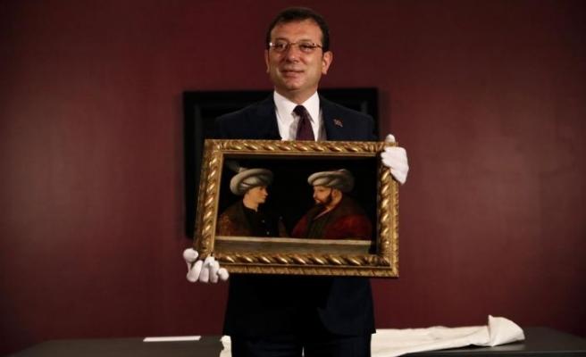 540 yıllık tablo yuvasına döndü: Ekrem İmamoğlu tanıttı