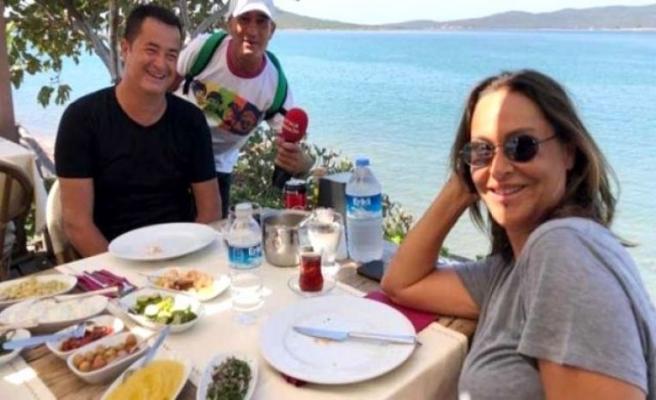 Hülya Avşar'dan Acun Ilıcalı'ya kahkaha attıran espri: Seni yatağıma attım