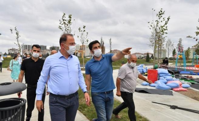 BEYLİKDÜZÜ BELEDİYESİ'NDEN ALTI YENİ PARK