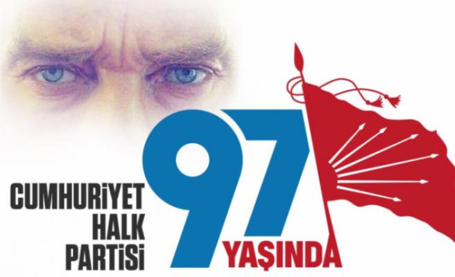 CHP'nin 97. yıl kutlamalarına pandemi önlemi