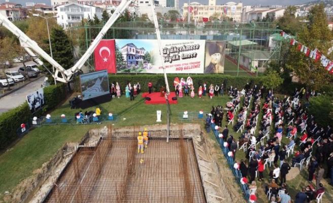 Cumhuriyet Bayramı'nda Atatürk Evi ve Müzesi'nin temeli atıldı