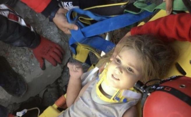 91. saatte mucize geldi: 4 yaşındaki Ayla Gezgin kurtarıldı