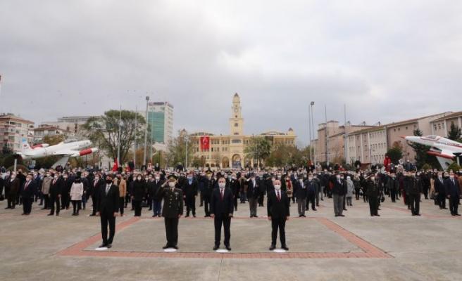 Büyük Atatürk saygı, sevgi ve minnetle anıldı