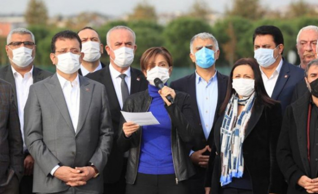 CHP İstanbul'dan 'tehdit' açıklaması: Milyonlarca vatansever size haddinizi bildirir