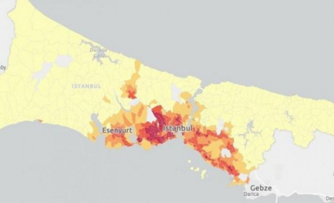 İBB paylaştı: İstanbul'un en riskli bölgeleri