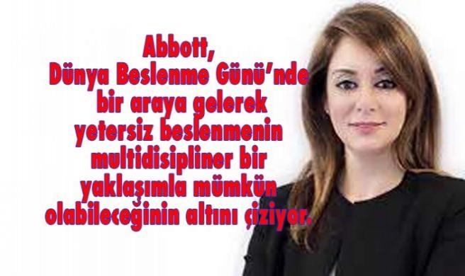 Türkiye'de malnütrisyon farkındalığını artırmak için bir araya geliyoruz
