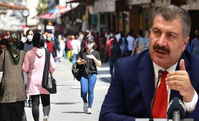 Bakan Koca; İstanbul'da vaka sayasında önemli düşüş var...