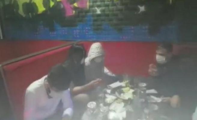 Beylikdüzü'nde doğum günü partisine korona baskını kamerada