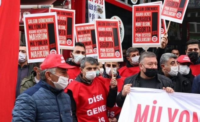 İşçiler asgari ücrete tepkili: Bu ücretle ne yapalım, duvarları mı kemirelim!