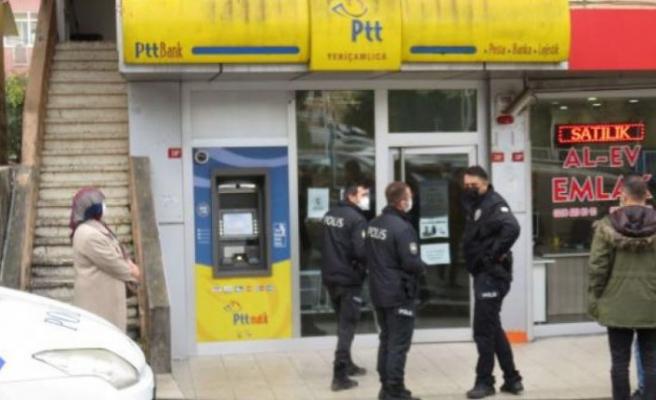 PTT'de silahlı soygun: 'Pişman oldum' diyerek teslim oldu