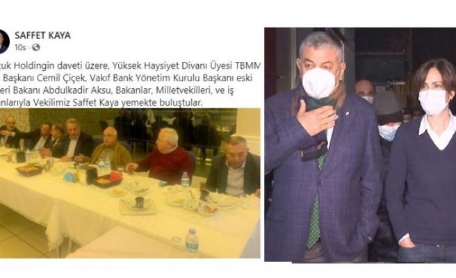 Canan Kaftancıoğlu'na ceza kesen polis AKP'li vekile de kesecek mi?