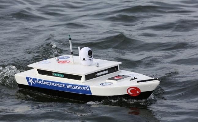 İSKA test sürüşleri Küçükçekmece Gölü'nde başladı