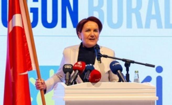 İYİ Parti Genel Başkanı Akşener: Atılan adımlar erken seçime yönelik