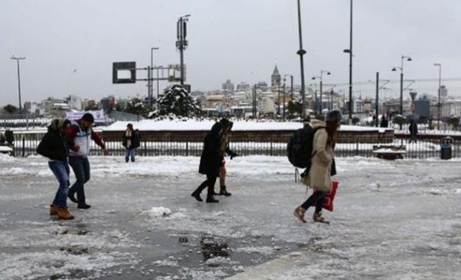 Meteoroloji'den İstanbul dahil için 30 il için uyarı