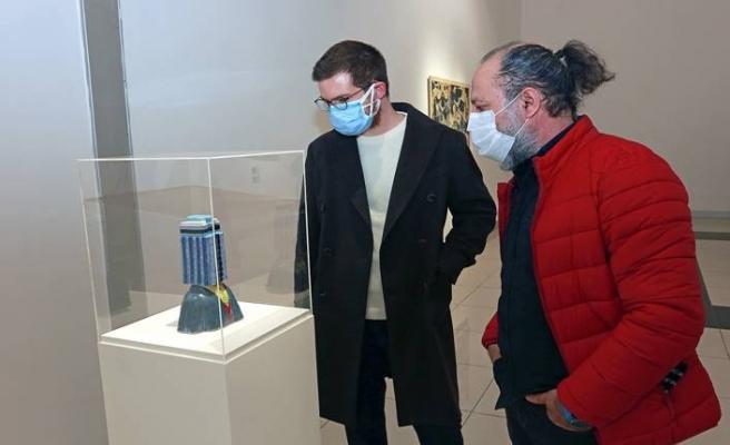Ataşehir sergisi kapılarını yeniden sanatseverlere açtı