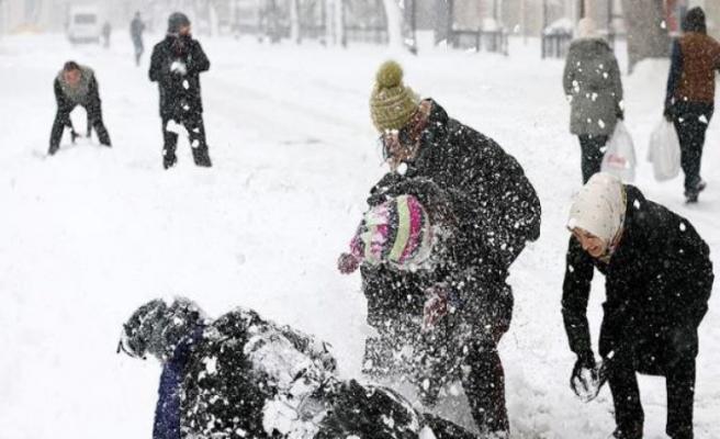 İstanbul 7 gün sürecek kar yağışının etkisi altına girecek