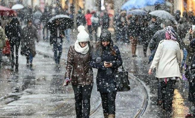 İstanbul'da beklenen kar yağışı için gün ve saat verildi
