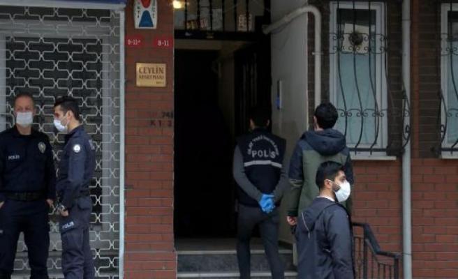 Küçükçekmece'de bir kişi bodrum katta ölü bulundu