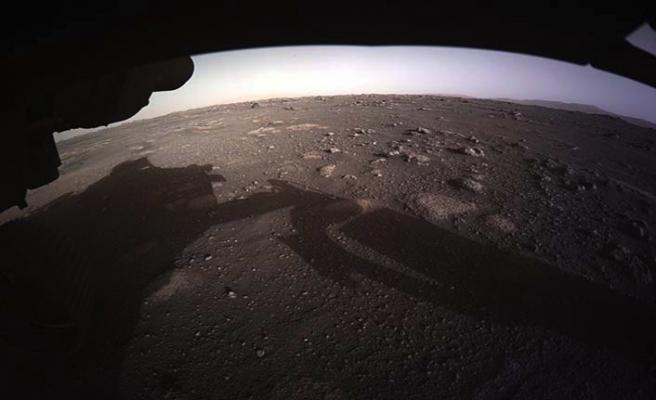 NASA'nın uzay aracı Perseverance'ın Mars'tan yeni görüntüleri paylaşıldı