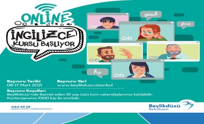 Beylikdüzü Belediyesi: Online İngilizce kurs kayıtları başladı