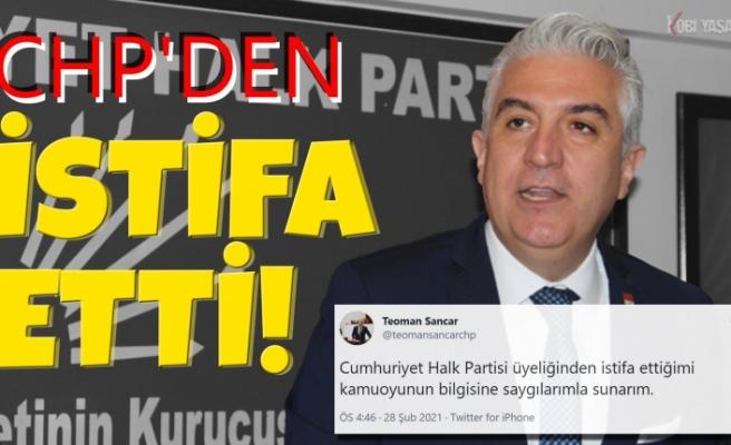 CHP'den istifa eden Denizli Milletvekili Teoman Sancar kararını verdi!