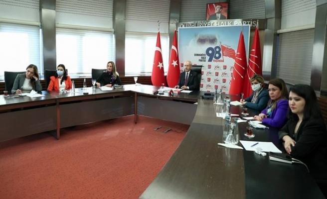 CHP Genel Başkanı Kemal Kılıçdaroğlu: 7 bölgeden emekçi kadınlarla buluştu